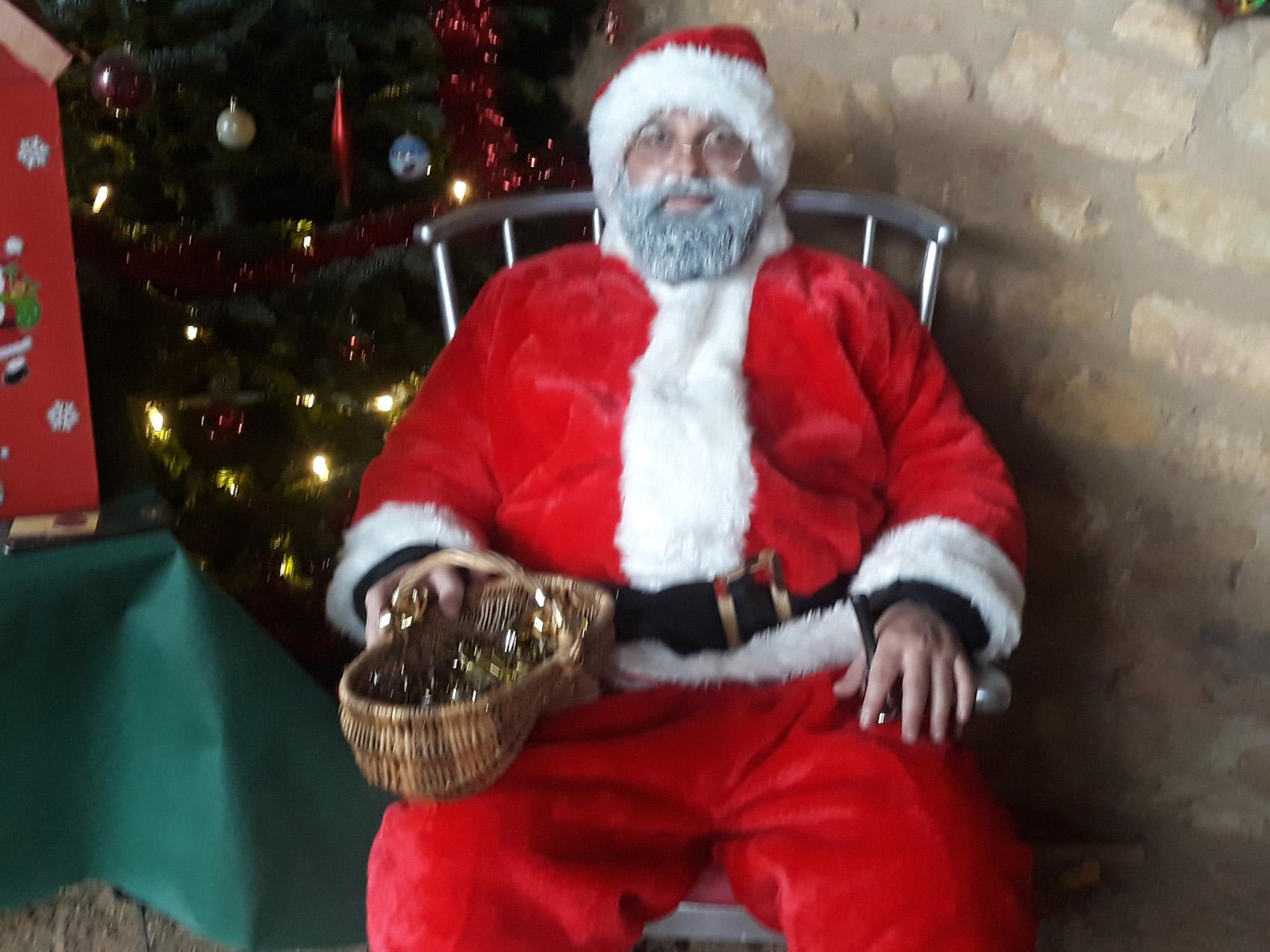 Le Père Noël du samedi